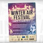 Winter Air Festival 2012 Affiche