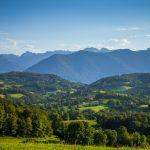 Collines et montagnes
